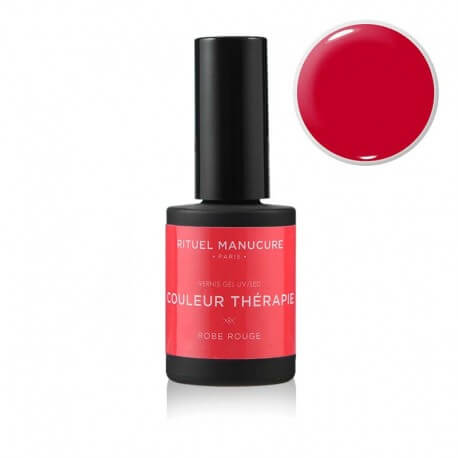 Robe Rouge - Vernis permanent Rouge intense - Rituel Manucure