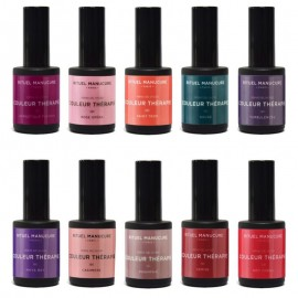 Kits & Coffret vernis permanents 15ml Professionnels 10 couleurs