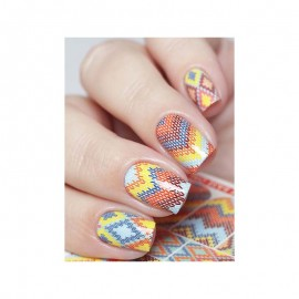 WATER DECALS - NAIL ART - 08