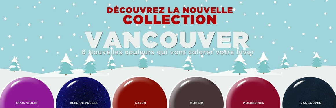 Collection vernis permanent hiver 2017
